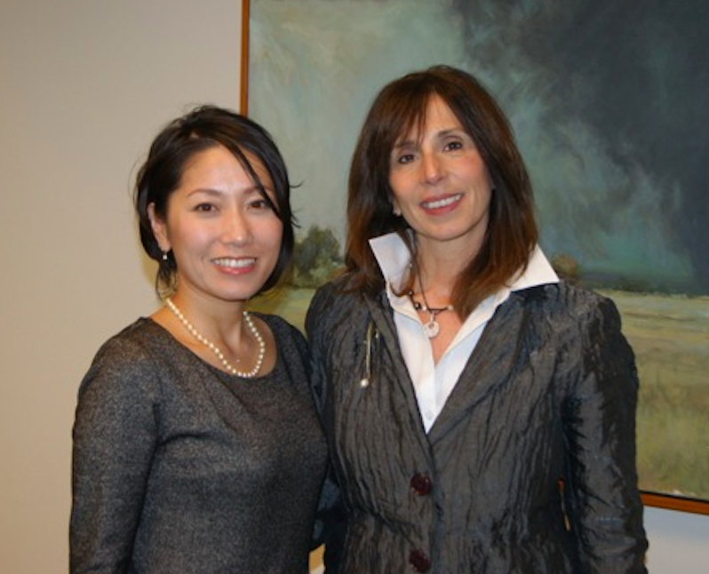 rania anderson with ms osakabe international women of courage award Japan The Way Women Work