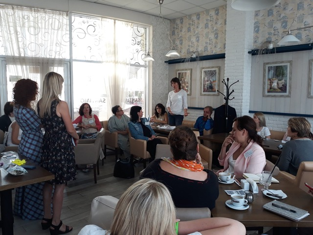 Business breakfasts at Cherkasy (launched by Olena Lytvynova) Ukraine